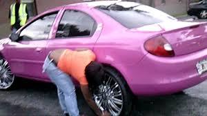 piefacepresentwhips 01 dodge neon purple wet on 22 u0027s rippin