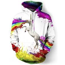 splatter print hoodie online for sale gearbest com