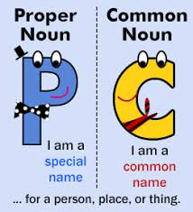 difference between common and proper nouns with examples proper