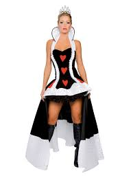 deluxe enchanting queen of hearts costume designer costumes