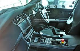 jaguar cars interior first jaguar f pace interior spy photos show manual gearbox xf