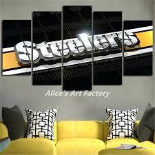 Steelers Bathroom Set Steelers Wall Art Design U2013 Musingsofamodernhippie