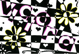 name style design op art name designs ms amsler u0027s artroom