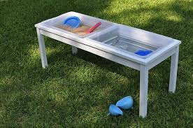 diy sand and water table pvc 10 great diy outdoor water play tables apartment therapy