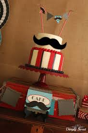 mustache birthday cake mustache bash 4th of july party ideas amazing cakes