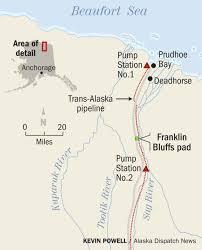 Alaska Pipeline Map by Explorer Plans First Test Of Fracking Potential In North Slope