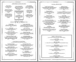 Free Printable Restaurant Menu Template free printable template restaurant menus simple menu template