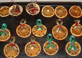 crafty s spot dried orange ornaments
