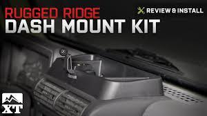 jeep wrangler rugged ridge dash multi mount 1997 2006 tj review