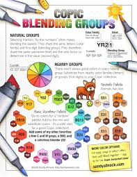 copic blending groups u2013 sandy allnock