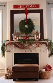 How To Hang Christmas Lights In Room by A Christmas Mantle Collection Domestic Superhero