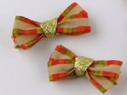 thanksgiving hair bows how to make hairbows frugal upstate
