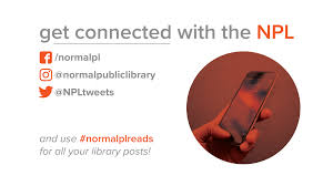 normal public library for books media and delightful events for