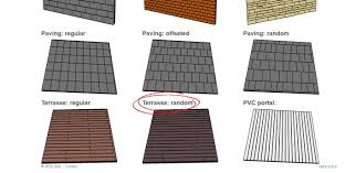 Sketchup Draw Line Specific Length Tile Laying Project Sketchup Sketchup Community