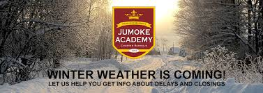 Where Is Winter Winter Weather Protocol For 2017 2018 Jumoke Academy