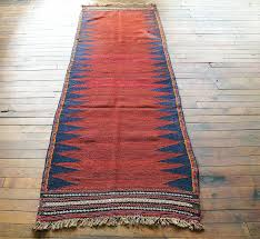 Bathroom Runner Rug Vintage Kilim Hallway Kitchen Bathroom Runner Rug