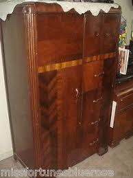 art deco bedroom suite circa 1930 for sale at 1stdibs pair of waterfall art deco 1935 vintage signed nightstands bakelite