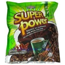 Kopi Tongkat Ali Ginseng Coffee power 6 in 1 coffee with tongkat ali ginseng misai kucing