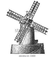 outline of windmill stock photos u0026 outline of windmill stock