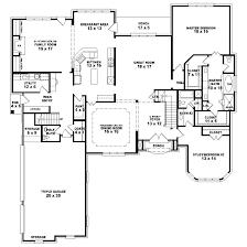 4 bedroom single house plans 6 bedroom floor plans one re program