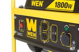 amazon com wen 56180 1500 running watts 1800 starting watts gas