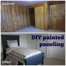painted paneling diy farmhouse bed u003d sleep the sensible home
