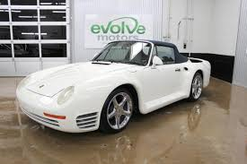 Porsche 911 Hardtop Convertible - someone turned a totaled 1988 porsche 911 into a 959 cabriolet 72