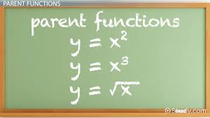 parent functions graphs u0026 examples video u0026 lesson transcript