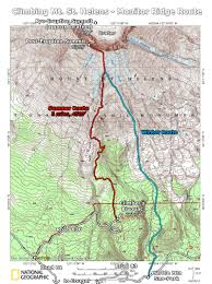 Shortest Route Map by Oregon Hikers U2022 View Topic Msh Worm Flows Beginner U0027s Snowshoe
