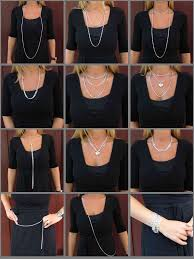 wear long necklace images Top twelve ways to wear a long necklace j r dunn 39 s jewelry blog jpg