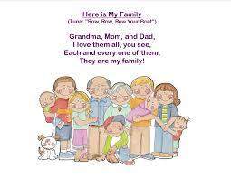 storytime theme i my family everyday i write the book