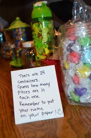 family reunion games candy jar guessing game family reunion