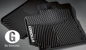 floor mats for toyota corolla toyota featured accessories