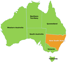 Where Is Wales On The Map New South Wales Citrus Australia