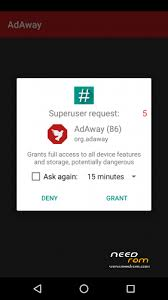 adsaway apk rom adaway official updated add the 05 20 2016 on needrom