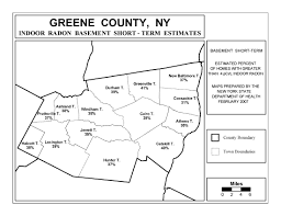 New York County Map Radon New York State Department Of Health Wadsworth Center