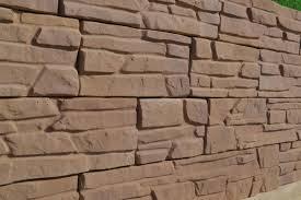 2 pieces 14 bricks plastic cement diy mold for garden wall decor