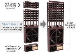 diy wine cellar kits instacellar by wine racks america
