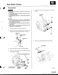 brake fluid honda civic 1999 6 g workshop manual