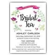 bridal tea party invitations bridal tea invitations paperstyle