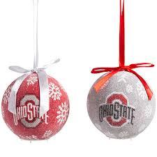 ohio state ornaments ohio state buckeyes led