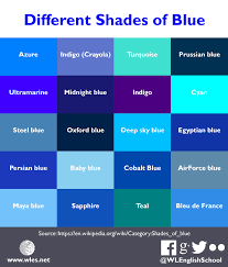 different shades of blue you can find even more blue colours and
