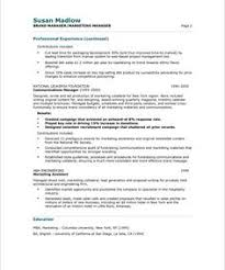 Sample Resume For Product Manager by Product Manager Page1 Marketing Resume Samples Pinterest