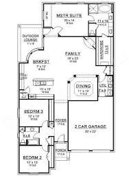 rose hill narrow floor plans ranch floor plans