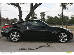 nissan 350z all black magnetic black 2008 nissan 350z coupe exterior photo 50110461