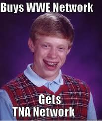 Wwe Network Meme - bad luck brian sucks at wrestling quickmeme