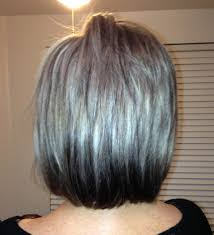 blonde streaks for greying hair spice up your grey platinum with dark dipped ends 60 and beyond