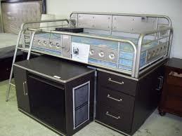 Metal Bunk Bed With Desk Underneath Bedroom Amusing Bedroom Charmingly Loft Beds With Desk