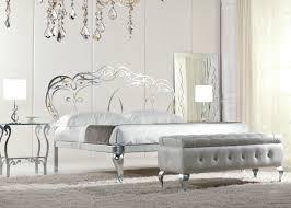 Schlafzimmer Mit Metallbett Massiv Eisenbett Portimao Metallbettenshop