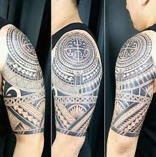103 great half sleeve tribal designs made on half sleeve